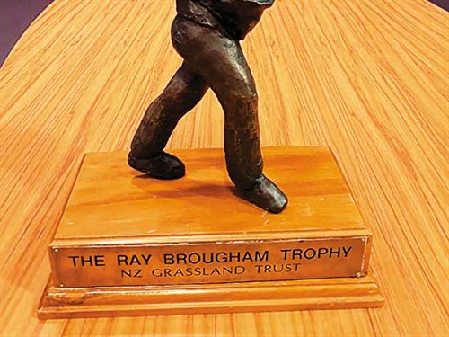 Ray -Brougham -Trophy