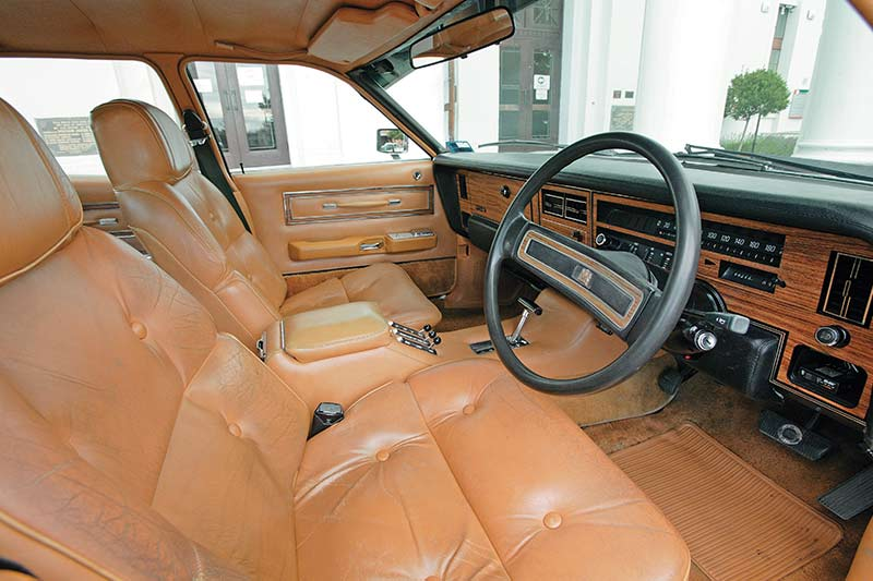 Ford -ltd -interior