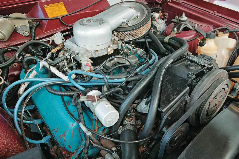 Ford -ltd -engine