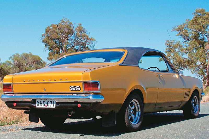 South -african -monaro -rear