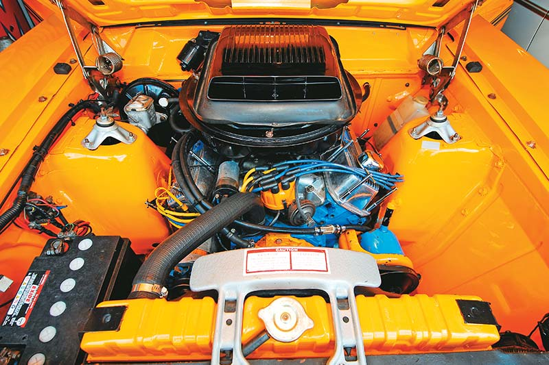 South -african -falcon -engine -bay