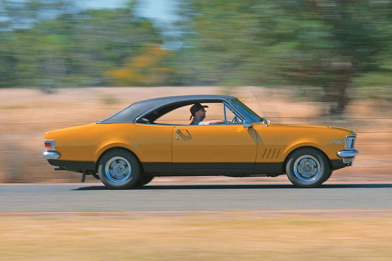 South -african -monaro -onroad
