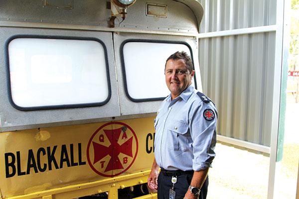 Queensland -Ambulance -Service -Superintendent