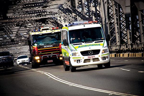 Ambulance -on -the -road
