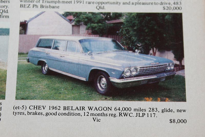 Chev -wagon