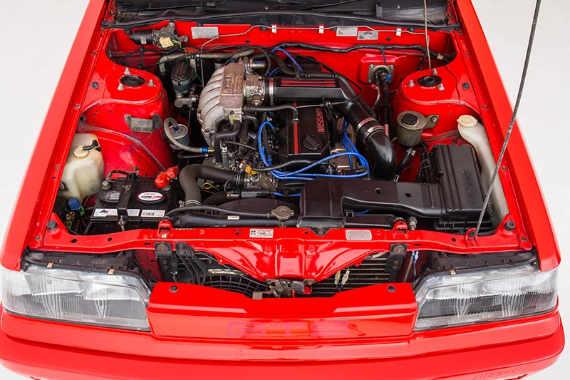 Nissan -skyline -engine -bay