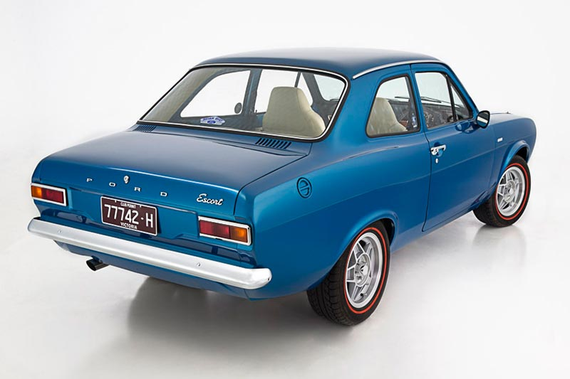 Ford -escort -resto -rear