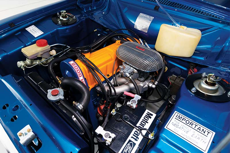 Ford -escort -resto -engine -bay