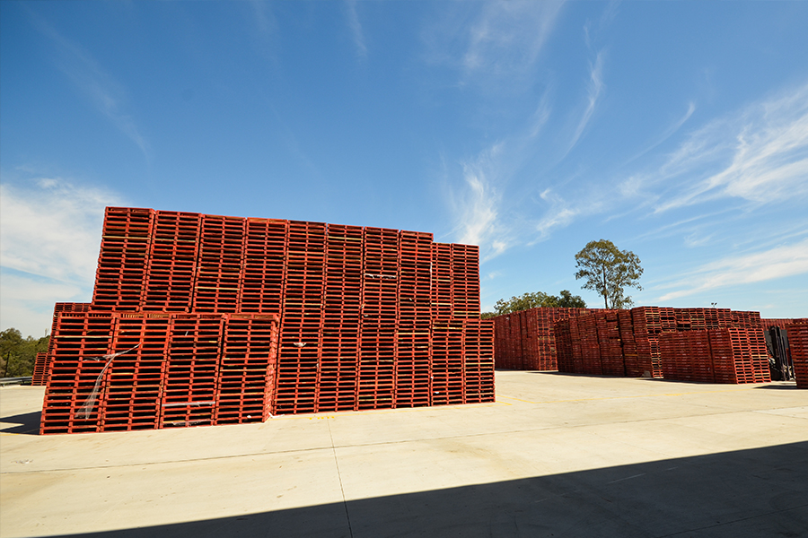 The new Brisbane facility has room for 125,000 pallets