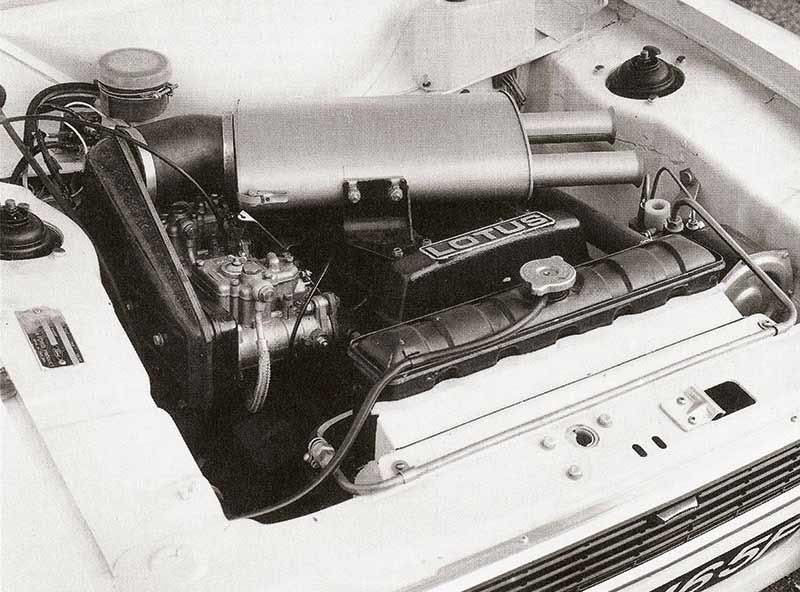 Ford -escort -engine