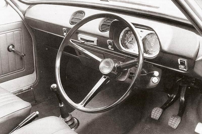 Ford -escort -interior -front -2