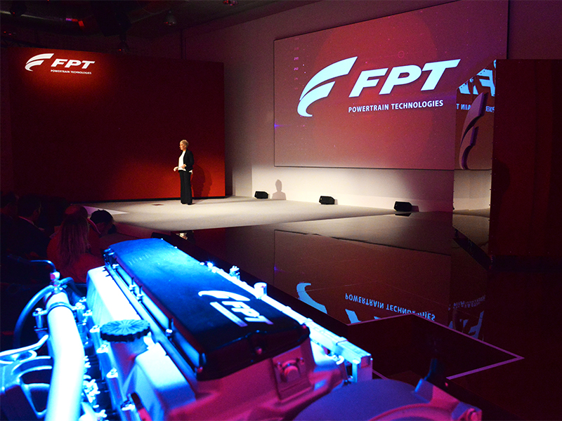 Engine unveiling: Annalisa Stupenengo, FPT Industrial brand president