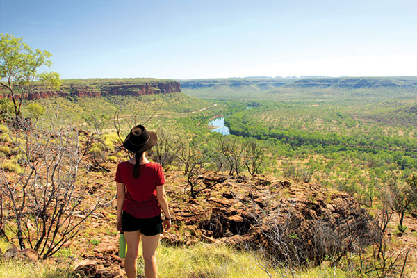 Woman -looking -over -Victoria -River -NT