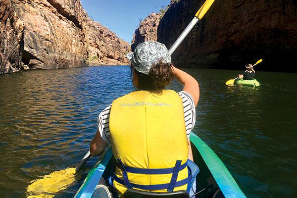 Kayaking -at -Katherine -Gorge -NT