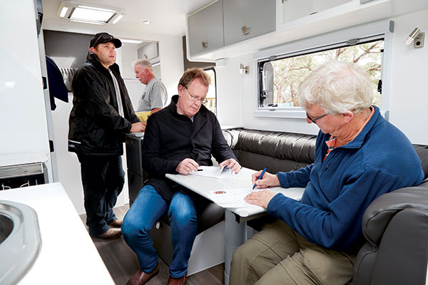 People -sitting -in -a -caravan -at -Best -Aussie -Vans -2017