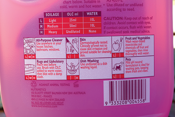 Nutri Clean -Original -Lotion -Concentrate -2