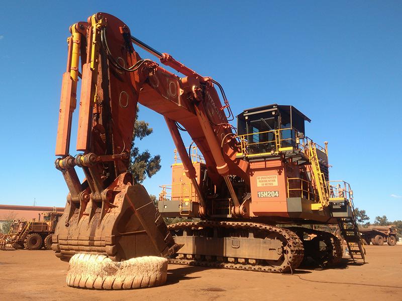 XCMG Rio Tinto excavator