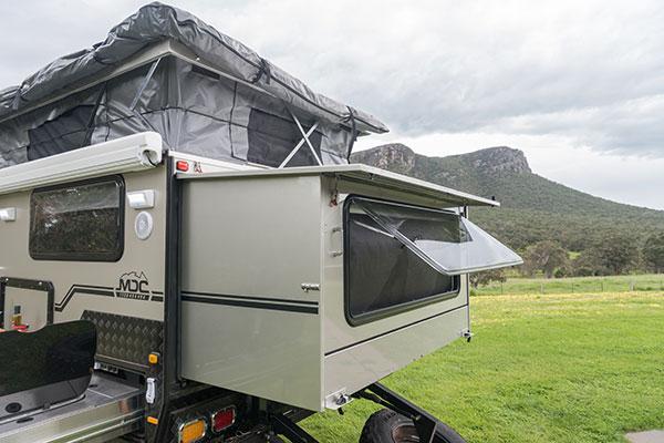 Pop -top -caravan