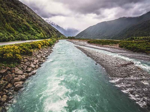 New -Zealand -Rivers
