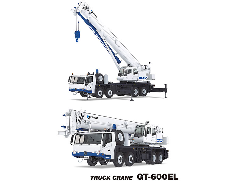 Tadano has unveiled a new truck crane series