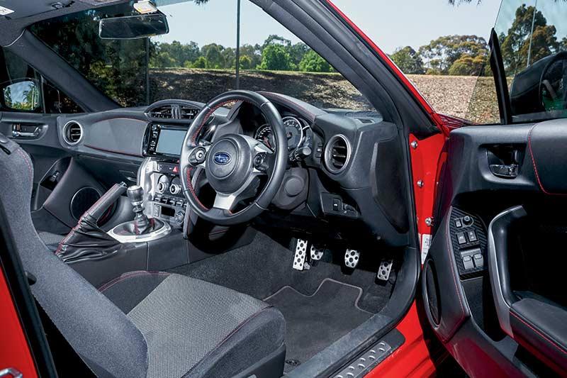 Subaru -brz -interior