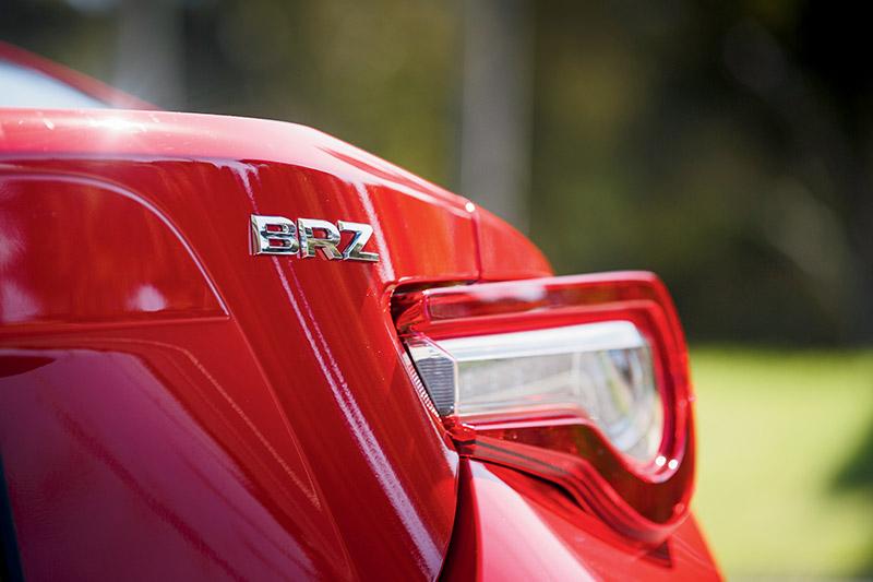 Subaru -brz -taillight