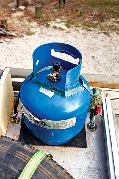 Gas -cylinder -holder