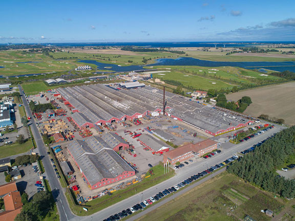 The current Kverneland Group Kerteminde production area