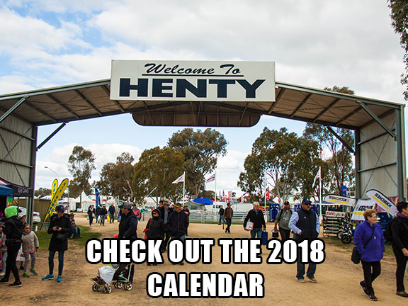 Click here for the 2018 calendar