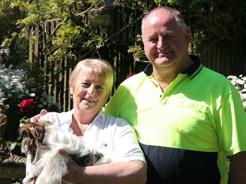 Keith and Maree Herron have been married for almost 50 years
