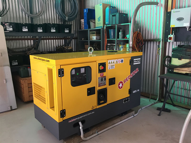 The Atlas Copco QES 40