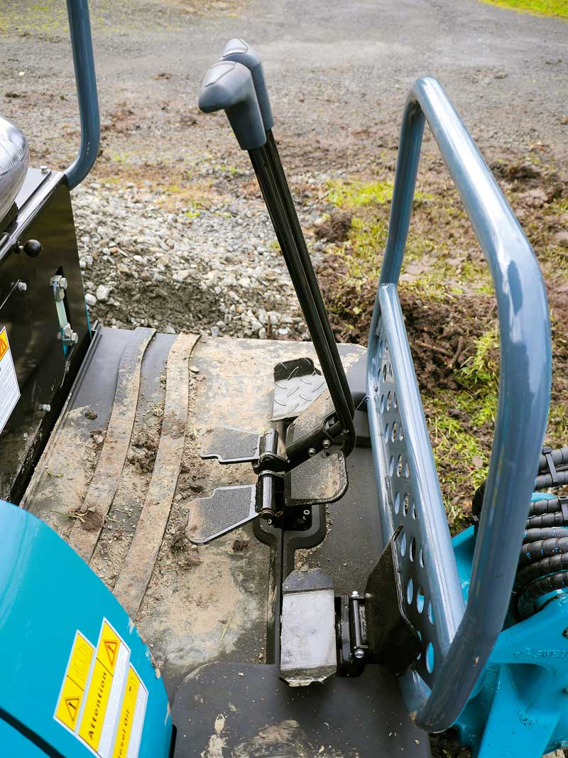 Sunward SWE18UB mini excavator | Review