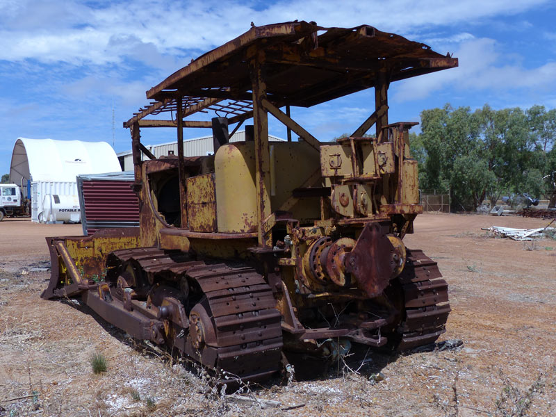 Allis -Chalmers -HD21-dozer