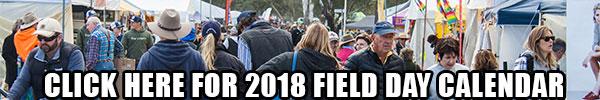 2017 field days calendar