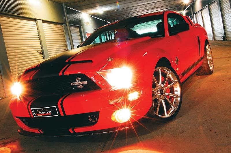 Shelby -gt 500-super -snake