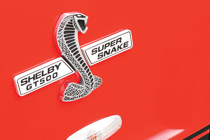 Shelby -gt 500-super -snake -badge