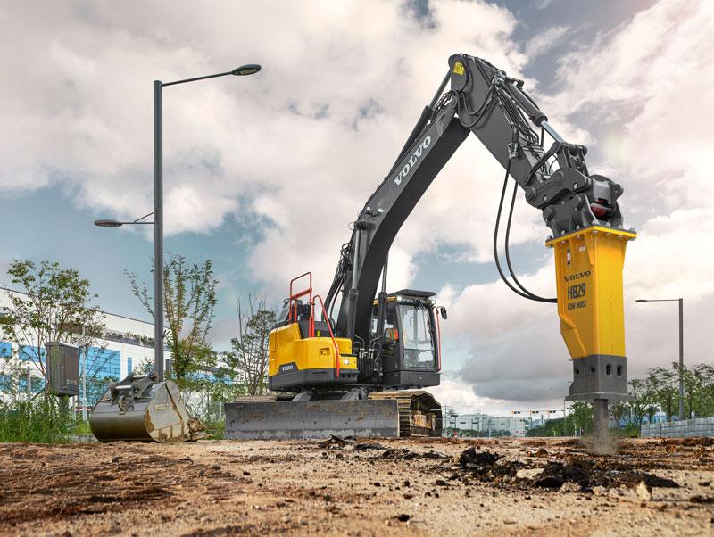 Volvo -ECR335E-excavator