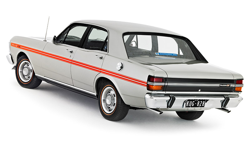 Ford -falcon -xy -gt -rear