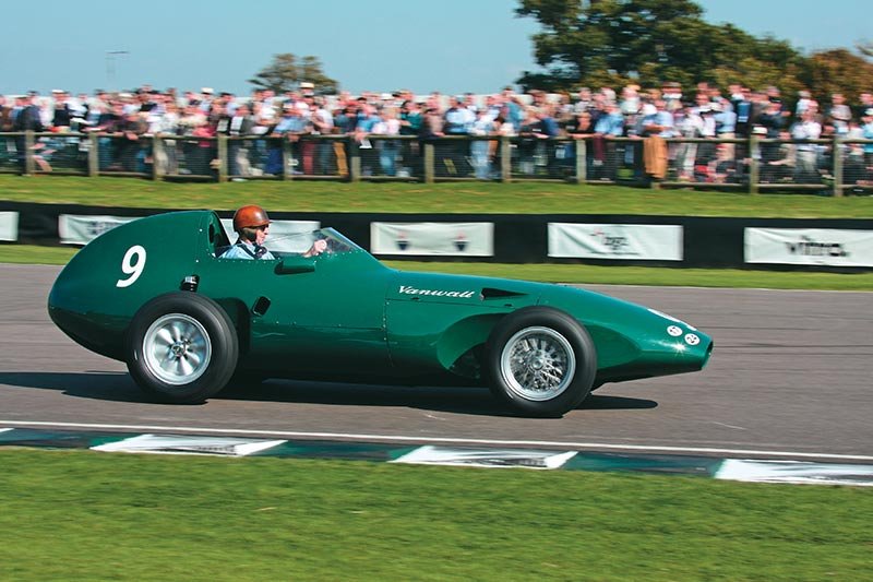 Vanwall -on -track