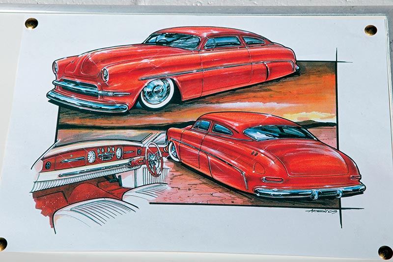 Car -drawings