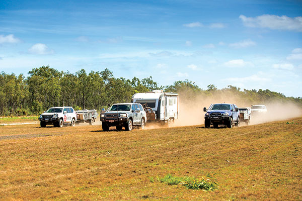 Caravan -and -camper -trailer -race -at -Cape -York -Race -to -the -Cape