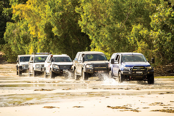4WD-convoy -crossing -the -river -in -Cape -York -at -Race -to -the -Cape