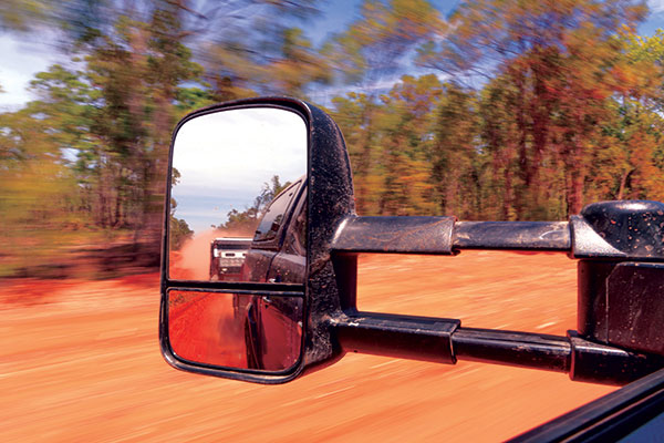 Clearview -towing -mirrors -on -a -4WD-in -Cape -York -at -Race -to -the -Cape -2