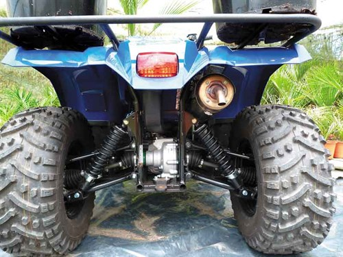 Yamaha Kodiak 450 ATV review