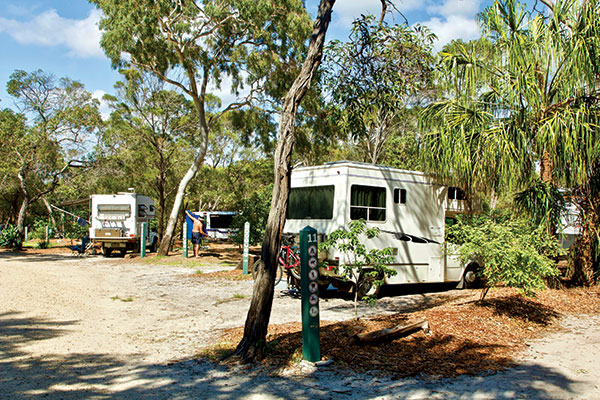 Workman 's -Beach -Campground -in -Agnes -Water -Qld