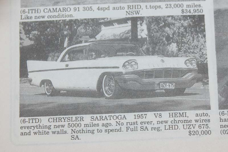 Chrysler -saratoga