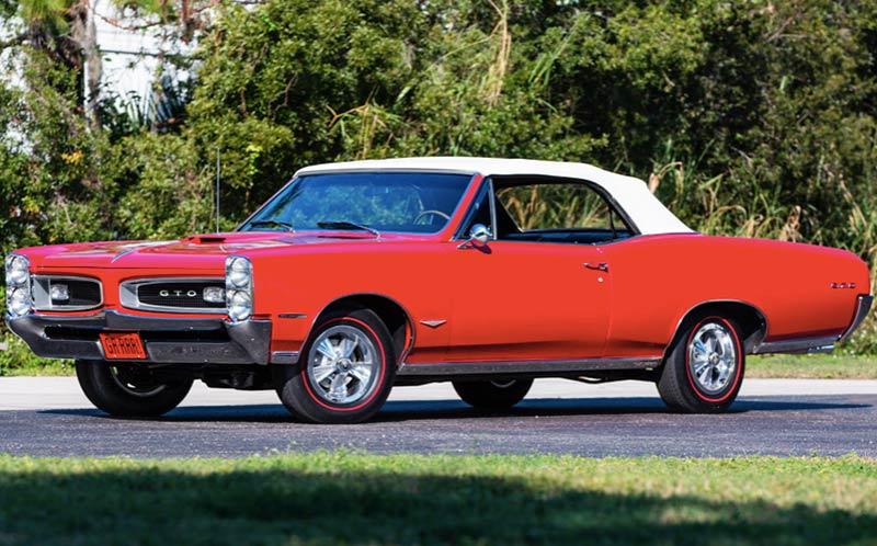 Pontiac -gto -convertible
