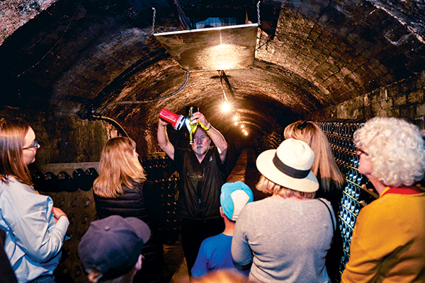 People -in -Seppelt -tunnels -with -wine