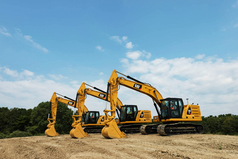 Caterpillar -next -gen -excavators