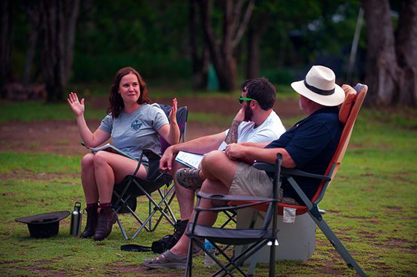 People -sitting -on -camp -chairs -at -Mt -Warning -Rainforest -Park -NSW